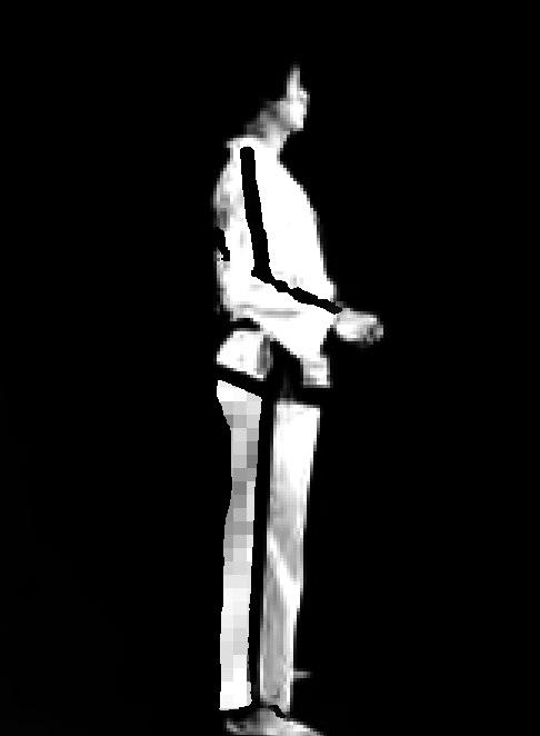 Taekwondo - Open stance